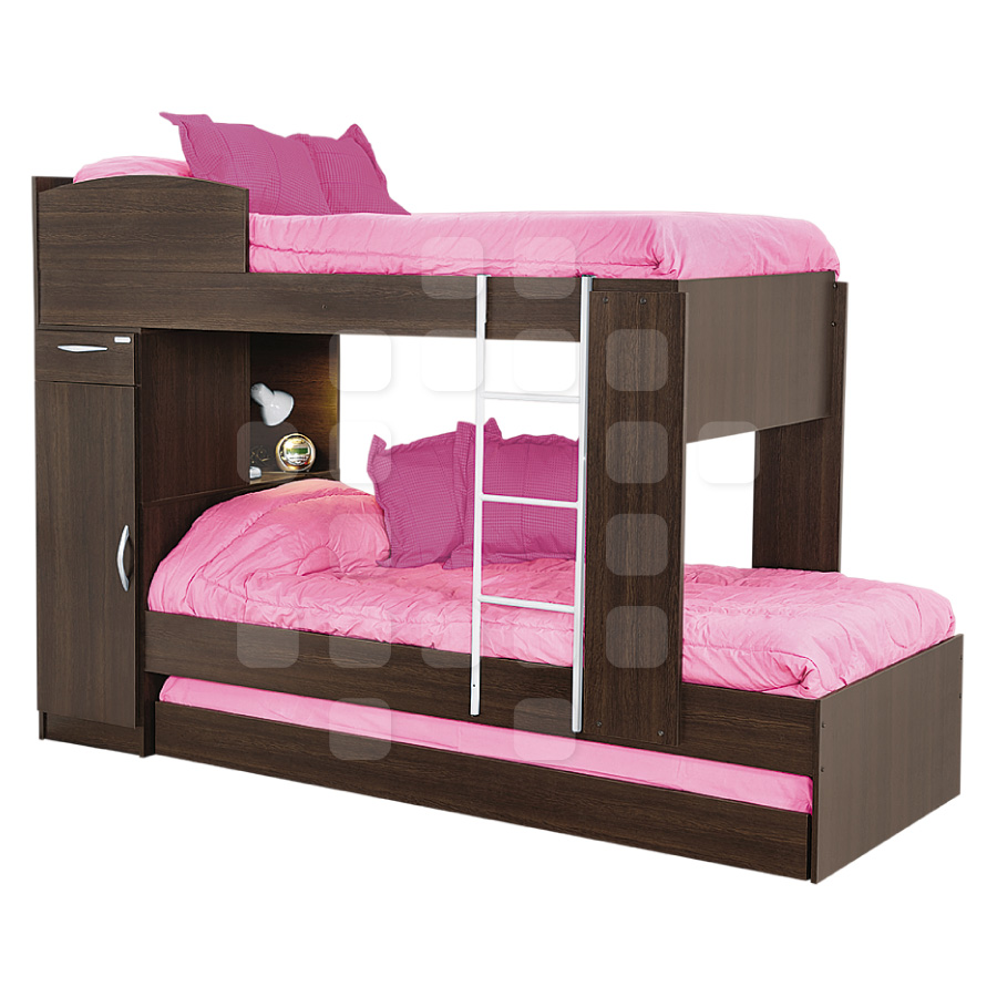 Cama Cucheta Triple Platinum Superpuesta Amplio Stock Pictures to pin